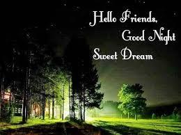 good night sweet dreams love text