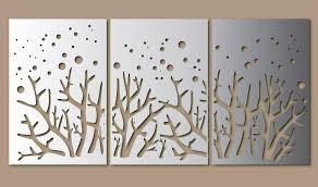metal art gallery on laser cut wall art panels with pottery barn wall hanging picture frame hempstead carved wood wall