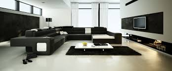 spacious living room with big black sofa 3d model max 1 big living room furniture living room