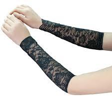 1 пара женская мода лето кружева уф татуировки шрам рукава крышка защита от солнца