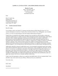 Legal Summer Associate Sample Resume Fascinating Associate Attorney Cover Letter Chechucontreras