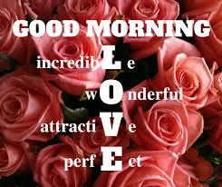 good morning love es