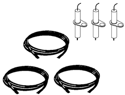 vermont castings vm400 grill ignitor wire and electrode kit 3 pack image 1