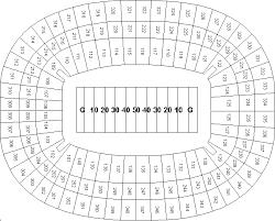Georgia Dome Atlanta Ga Seating Charts Page