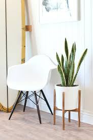 diy plant holder completed mid century plant stand diy plant holder macrame diy plant holder