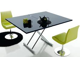 dining table to coffee table convertible dining table glass cut down dining table coffee table