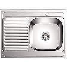 <b>Мойка</b> кухонная <b>Ledeme L98060</b>-<b>R</b> 80 см полированная — купить ...