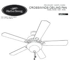 harbor breeze ceiling fan manuals harbour remote control instructions