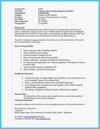 Bank Teller Responsibilities For Resume Example Bank Teller Resume