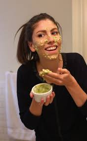 get glowing skin with this hydrating avocado face mask made with just two or