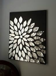 diy wall art blank canvas aluminum foil and mod podge on wall picture arts with diy wall art blank canvas aluminum foil and mod podge diy