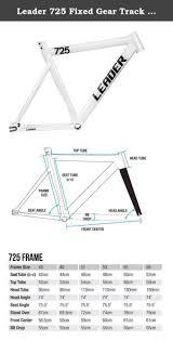 Leader 725 Frame Size Chart Amtframe Co