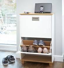 Merton Shoe Storage Cabinet - 2 Drawer