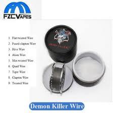 original fuse online new original fuse for original demon killer wick n wire roll box 15feet 15ft twisted fused clapton hive alien quad tiger wire coil rda rdta rta gta