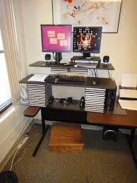 fabulous diy sit stand desk ideas and workstation legs riser images standup up for