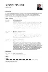 service tech resume