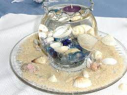 glass bowl centerpiece ideas gorgeous shell and glass bowl wedding centerpiece idea glass bowl centerpiece decorating ideas