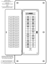 electrical panel labels download goal goodwinmetals co Sub Panel to Main Panel Wiring Diagram electrical panel labels download