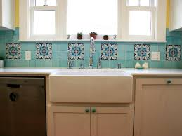 white cabinet door with knob. Simple Kitchen With Blue Ceramic Moroccan Style Tile Backsplash, Cabinet  Door Knobs, And White Cabinet Door Knob R
