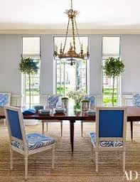 bruce budd redecorates houston mansion modern dining chairsdining room