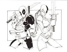 Deadpool Kleurplaat Dibujos Para Colorear
