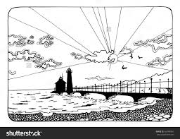 Small Picture Tropical Sunset Coloring Pages Coloring Pages Ideas
