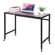 Computer Desk Simple Design Amazon Com Ama Store Computer Desk Office Desk With Wheels