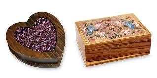 5 year anniversary gift ideas wood jewelry bo