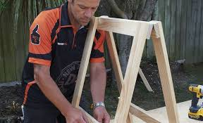 how to build trestle legs mitre 10