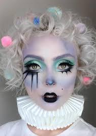 makeup ideas pastel clown makeup for