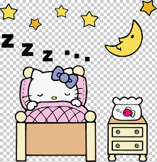 Browse and download hd hello kitty png images with transparent background for free. Hello Kitty Coloring Pages Sleeping 728x753 Wallpaper Teahub Io