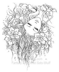 Gothic Fairy Coloring Pages Wonderful Gothic Fairy Coloring Pages