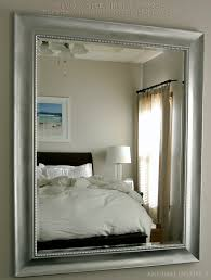 Silver Mirrors For Bedroom Knock It Off Restoration Hardware Baroque Aged Silver Leaf