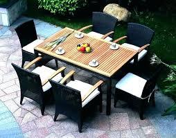 7 piece patio dining set 7 piece outdoor dining set round table