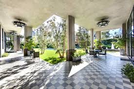 ... Wonderful Outdoor Patio Flooring Design For Exterior Decoration :  Contemporary Exterior Design Ideas Using Black And ...