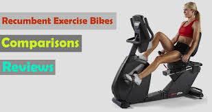 Exercise Bike Comparison Chart Top List Of Best Recumbent Exercise Bike Reviews Updated