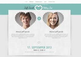 Wedding Website Template Inspiration Free Wedding Invitation Website Templates Socialgeistnet