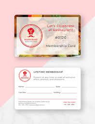 19 Membership Card Examples Templates Design Ideas Examples