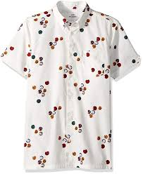 Ben Sherman Mens Short Sleeve Aquarius Archive Shirt