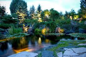 koi pond lighting ideas. interesting pond water feature u0026 koi pond lighting ideas for outdoor living areas in  rochester ny on koi pond lighting ideas i