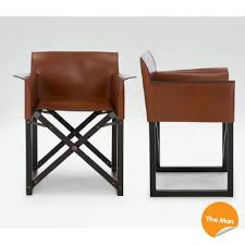 folding leather directors chairs. director chair - giorgio armani folding leather directors chairs