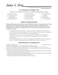 Resume Objectives For Healthcare