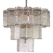 dale modern classic lucite glass pane chandelier