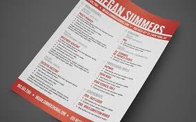 free swiss resume photoshop template psd resume templates