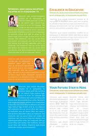 Education Newsletter Templates Educational Newsletter Template