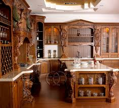Alluring Solid Wood Kitchen Cabinets With Real Wood Kitchen Cabinets Photo Gallery