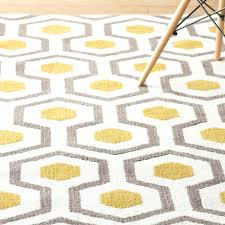 beautiful gray and yellow rugs for hand tufted beige gray yellow area rug 65 yellow grey