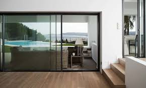 frameless 20mm sliding doors vision20