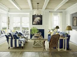 View in gallery Gorgeous living room in blue and white