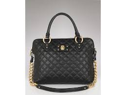 Marc jacobs The Standard Quilted Leather Satchel in Black | Lyst & Gallery Adamdwight.com